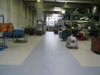 Bodenbeschichtung Lagerhalle