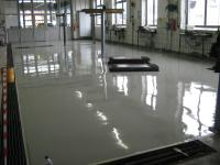 Autowerkstätte Bodenbeschichtung