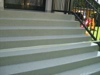 Stufenbeschichtung
