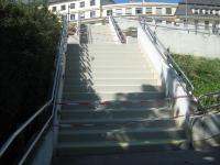 Stufenbeschichtung außen
