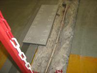 Fugenprofil Sika FloorJoint vorher