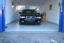 Garagenbeschichtung mit einer genoppten Oberfläche (Strukturbeschichtung)